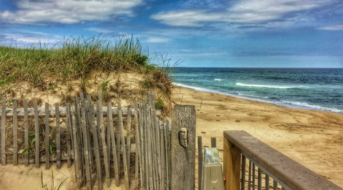 Nauset Beach, On The National Seashore,  On Cape Cod
