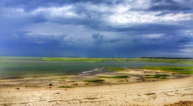 Boast Meadow Beach On Cape Cod Bay Before The Afternoon Storm