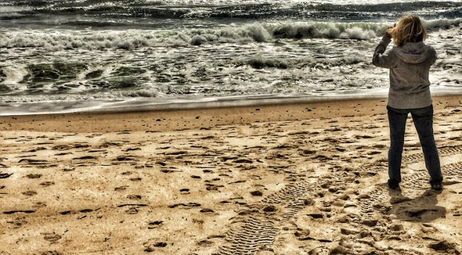 Windy Day At Coast Guard Beach On Cape Cod
