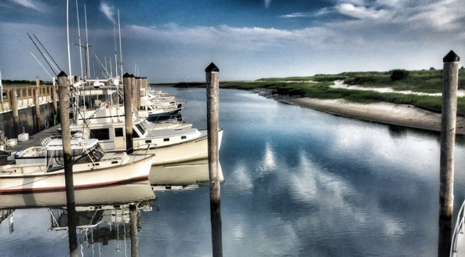 Waiting For High Tide At Rock Harbor On Cape Cod