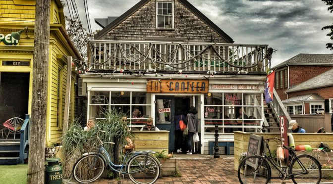 The Canteen In Provincetown On Cape Cod