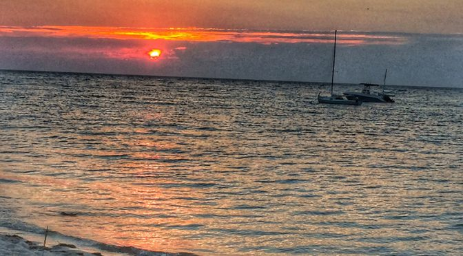 Gorgeous Sunset At Boat Meadow On Cape Cod