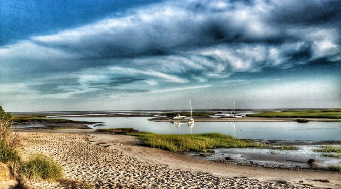 Dead Low Tide At Boat Meadow On Cape Cod