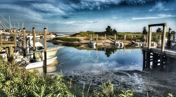 Gorgeous Reflections At Rock Harbor On Cape Cod