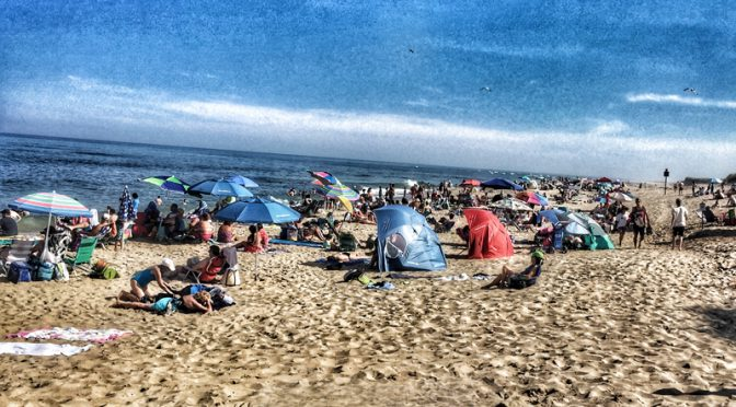 Coast Guard Beach On Cape Cod Was Packed Yesterday!