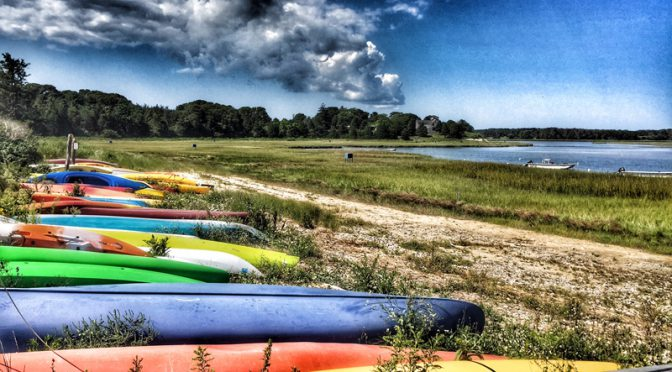 Colorful Boats At Hemenway Landing On Cape Cod