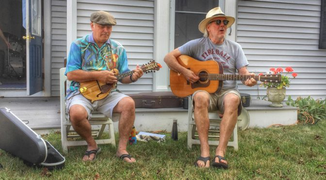 Porchfest In Wellfleet On Cape Cod