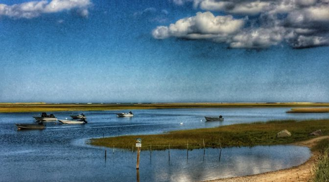 Nauset Marsh From Hemenway Landing On Cape Cod
