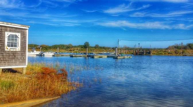Rock Harbor From the Eastham Side On Cape Cod
