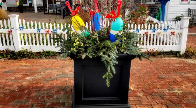 Orleans On Cape Cod Is Beach-Themed For The Holidays