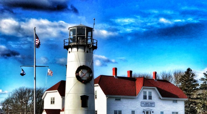 Chatham Lighthouse On Cape Cod