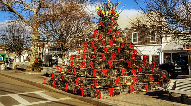 Provincetown On Cape Cod Has Great Holiday Decorations!