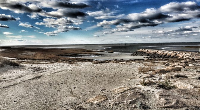 Rock Harbor At Low Tide On Cape Cod