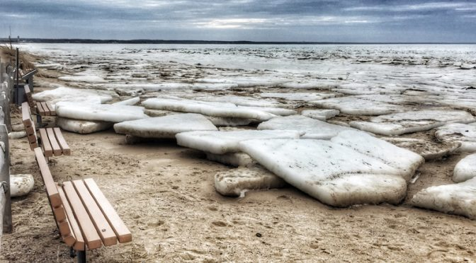 Cape Cod Bay Beaches Are Still Full Of Huge Ice Chunks