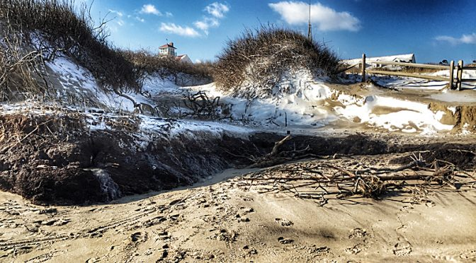 Some Erosion At Coast Guard Beach On Cape Cod