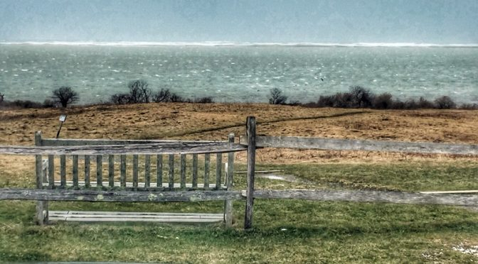 Nauset Marsh On Cape Cod During The Storm At High Tide!