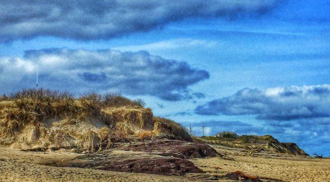 Dunes On Coast Guard Beach On Cape Cod