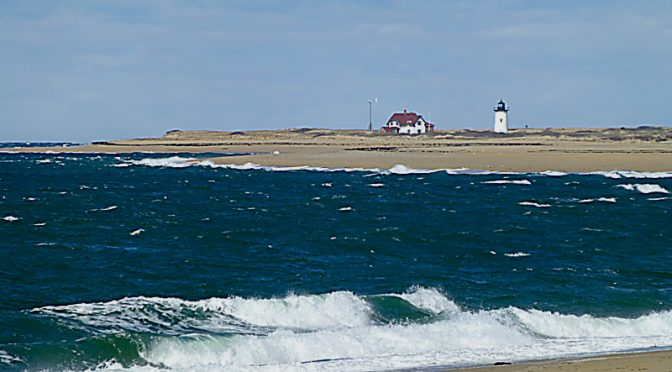 Race Point Lighthouse In Provincetown On Cape Cod