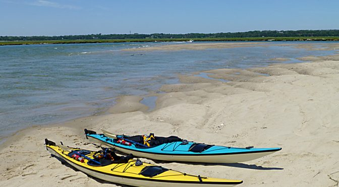 Spectacular Day For Kayaking Nauset Marsh On Cape Cod