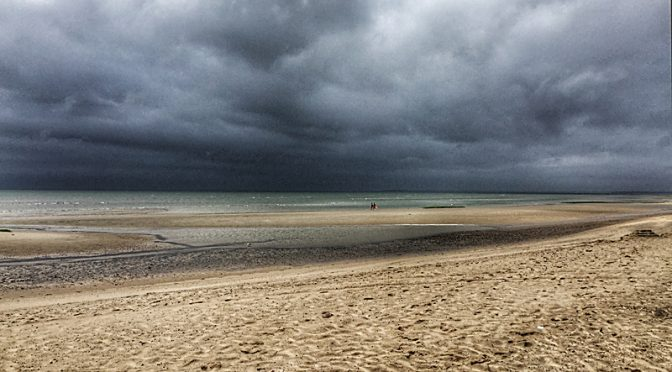 Stormy Day At First Encounter Beach On Cape Cod Bay