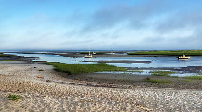 Early Morn At Boat Meadow On Cape Cod Bay