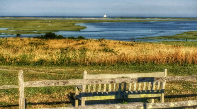Sit On This Bench At Fort Hill And Relax On Cape Cod