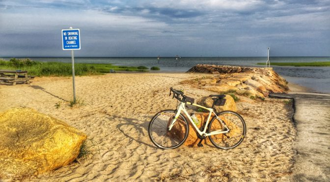 Early Morning Bike Ride To Rock Harbor On Cape Cod