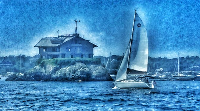 Love All The Sailboats In Newport Harbor In Rhode Island