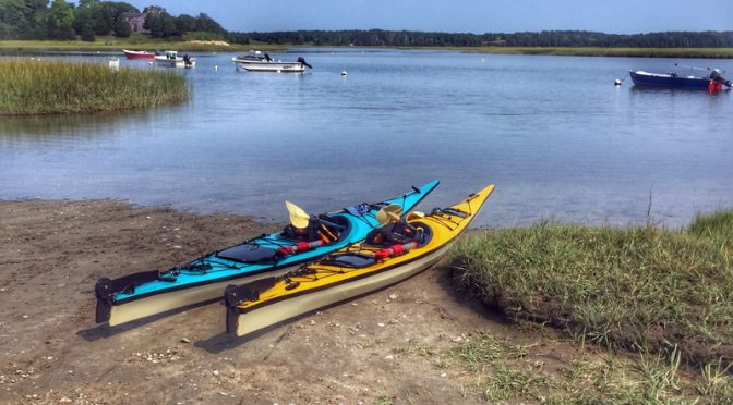 Glorious Day To Kayak Nauset Marsh On Cape Cod