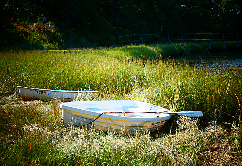 Loved This Dinghy At Quanset Pond In Orleans On Cape Cod.