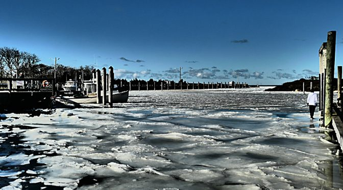 Be Careful Of Ice On Rivers And Ponds And Harbors On Cape Cod And Everywhere!