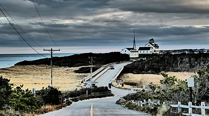 """Retro"" Photograph Of Coast Guard Station In Eastham On Cape Cod."