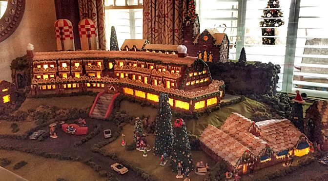 Awesome Gingerbread Train Village At The Chatham Bars Inn On Cape Cod!