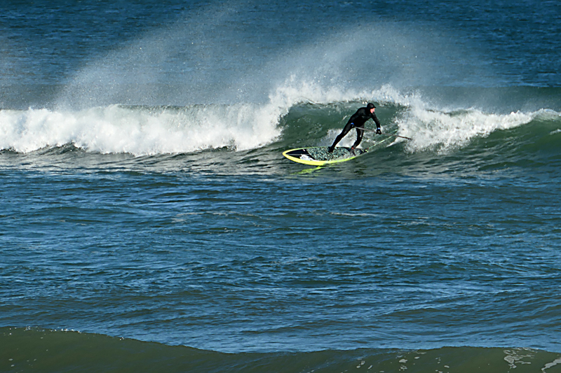 Still Paddle Surfing At Coast Guard Beach On Cape Cod!