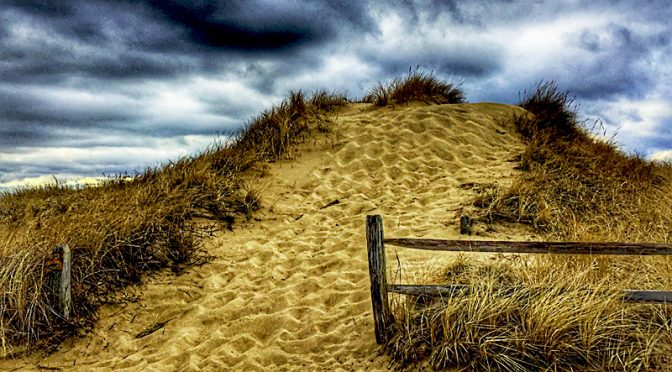 Awesome Dunes At First Encounter Beach On Cape Cod Bay.