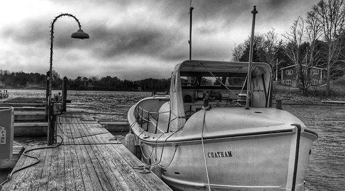 Coast Guard Motor Lifeboat CG-36500 On Cape Cod.