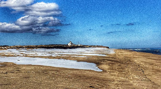 Coast Guard Beach On Cape Cod After The Snow!