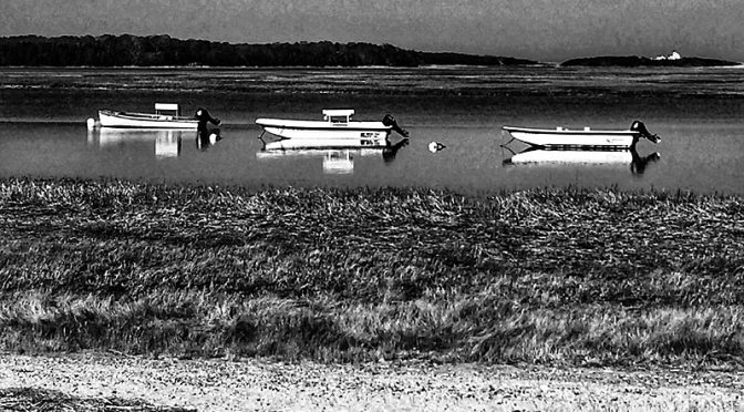 Beautiful Reflections At Hemenway Landing On Cape Cod…In Black And White Or Color?