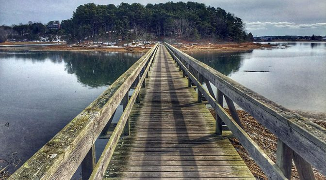 Uncle Tim's Bridge In Wellfleet On Cape Cod In Horizontal Or Vertical?