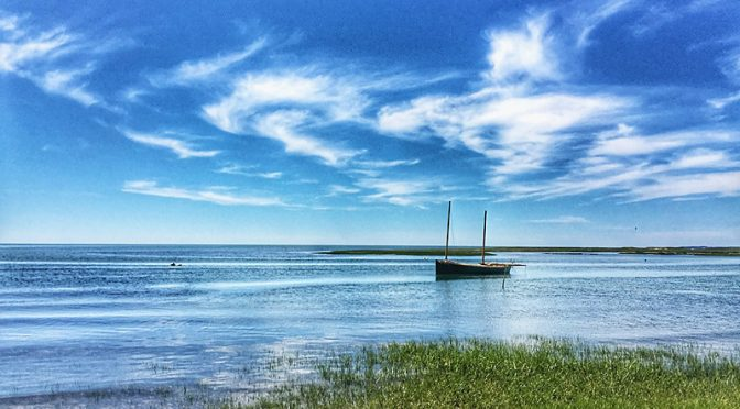 Tranquility At Boat Meadow Beach On Cape Cod.