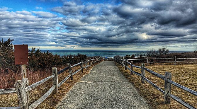 The Old Road To Coast Guard Beach On Cape Cod.