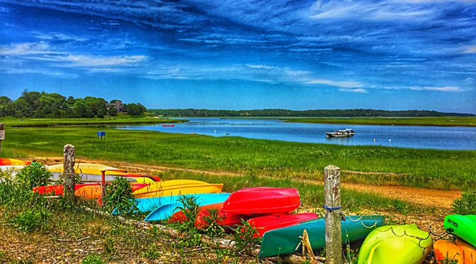 Gorgeous Day At Hemenway Landing On Cape Cod!