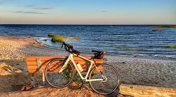 Love My Early Morning Bike Rides On Cape Cod!