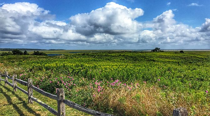 Fort Hill Was Just Beautiful On Cape Cod!