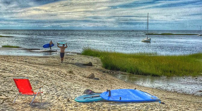 Still Paddleboarding On Cape Cod!
