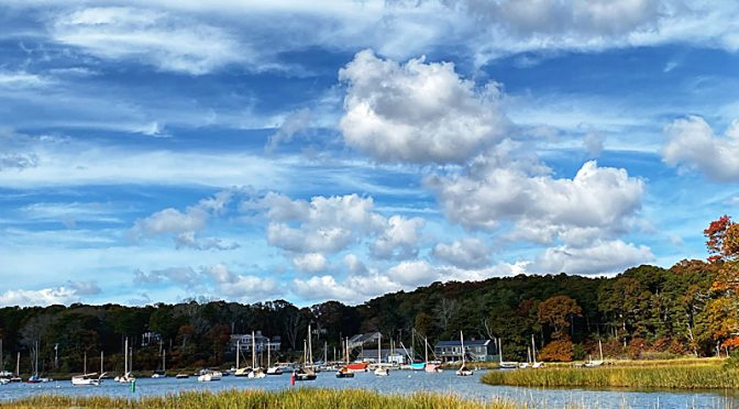 Pretty View Of Arey's Pond In Orleans On Cape Cod!