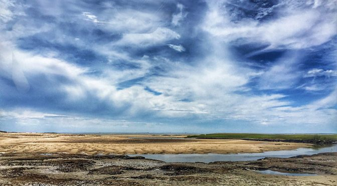 Beautiful Clouds At The Wellfleet Bay Wildlife Sanctuary On Cape Cod!