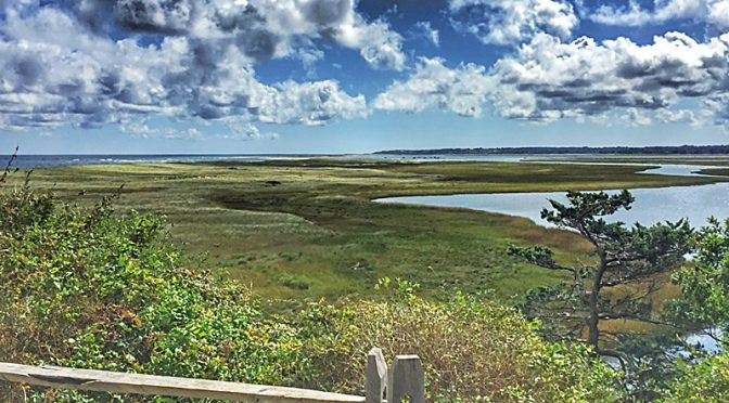 Nauset Marsh From The Coast Guard Beach Overlook On Cape Cod.