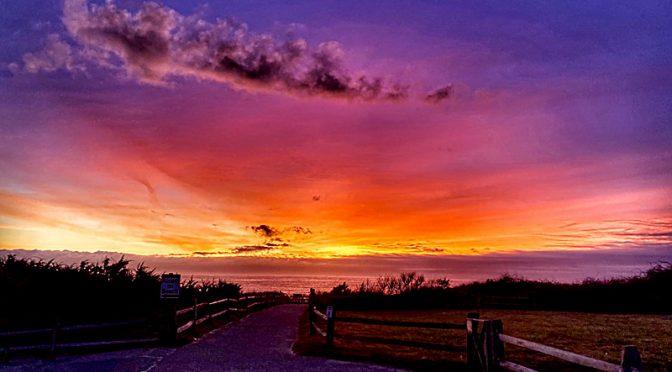 Gorgeous Sunrise At Coast Guard Beach On Cape Cod!