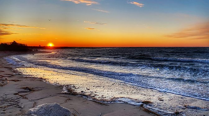 Beautiful Cape Cod Sunset To Wish You A Happy New Year's Eve!